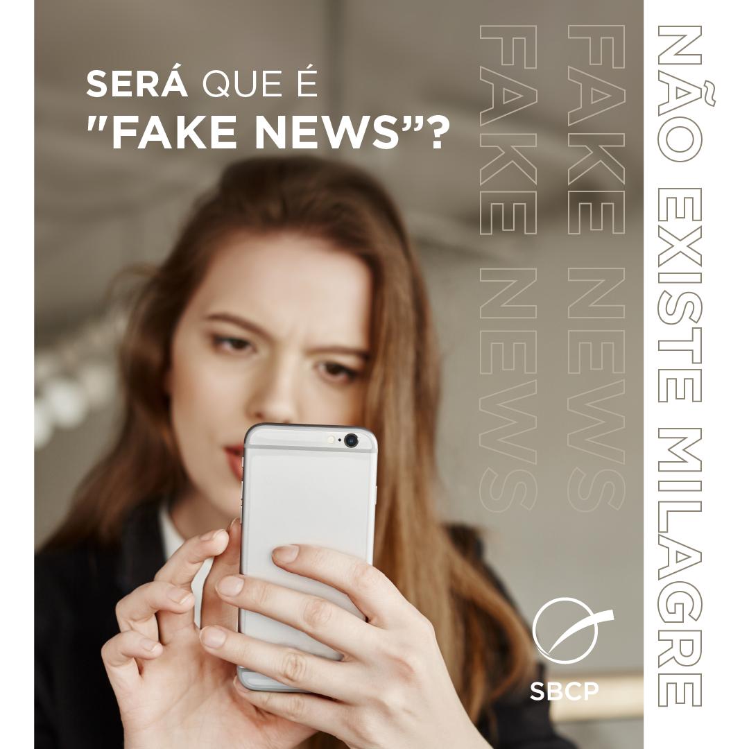 """Será que é """"fake news""""?"""