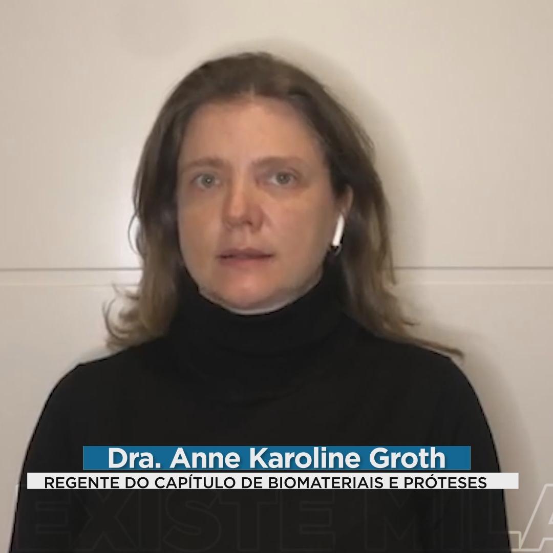 Regente Anne sobre Biomateriais