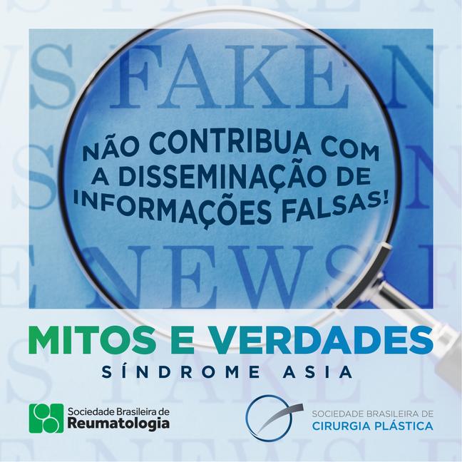 Não contribua com a disseminação de informações falsas