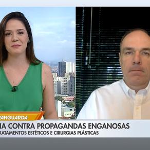 TV Globo: Bom dia Vanguarda - Campanha contra propagandas enganosas