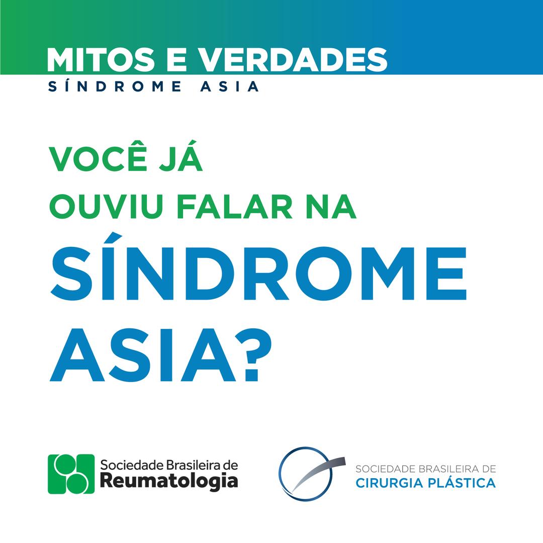 Você já ouviu falar na Síndrome ASIA?