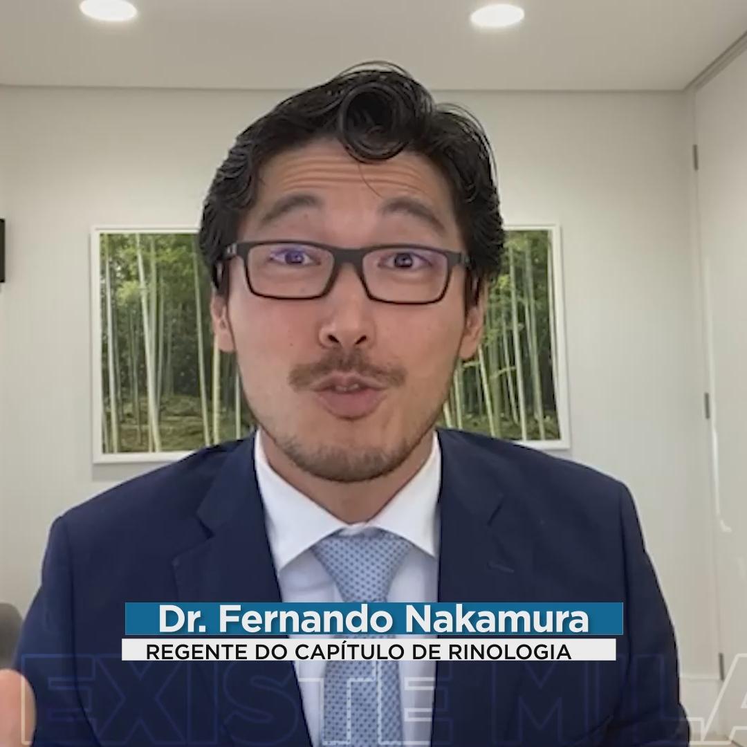 Regente Fernando fala sobre Rinologia