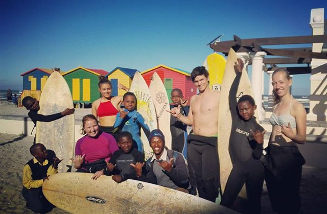Ubuntu learn to swim and surf school