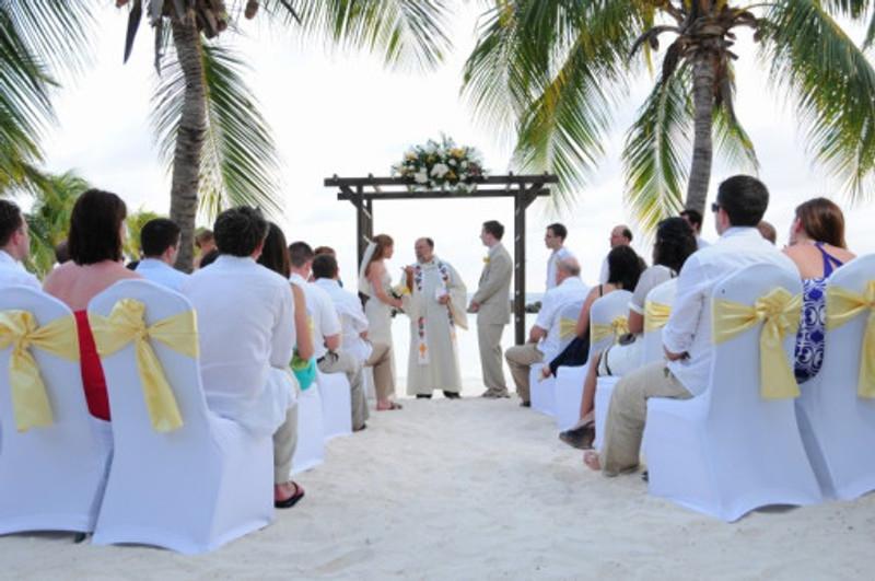 Ceremony, Private Island Rennaissance Aruba