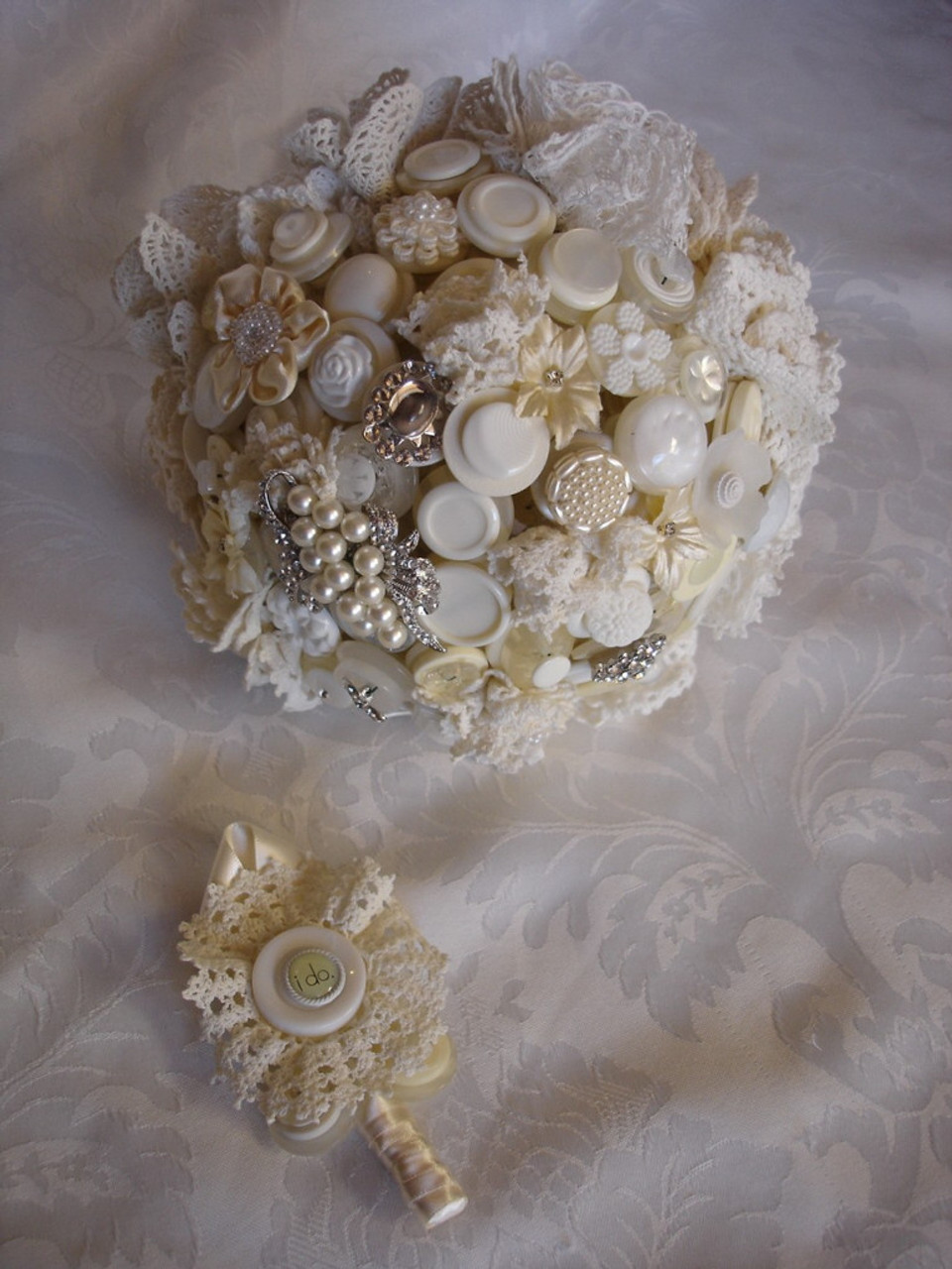 Tea and Lace Bouquet by letters4lilly