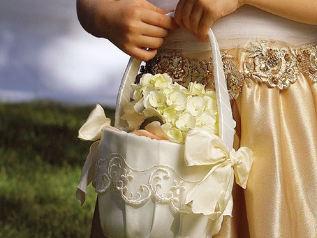 Tisket a Tasket a Flower Girl Basket