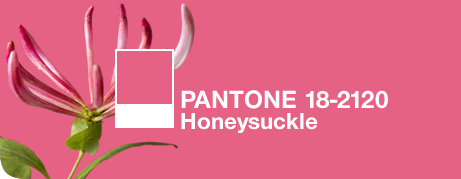 Honeysuckle Pantone 2011 Choice for Color of the Year