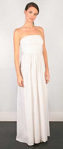 Seersucker Gown