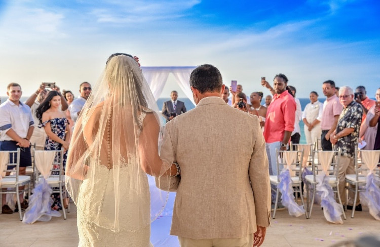 Destination Wedding Ceremony Hyatt Ziva Montego Bay Jamaica