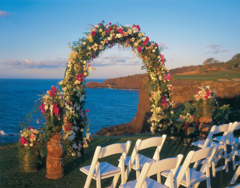 Destination Wedding Four Seasons Lanai