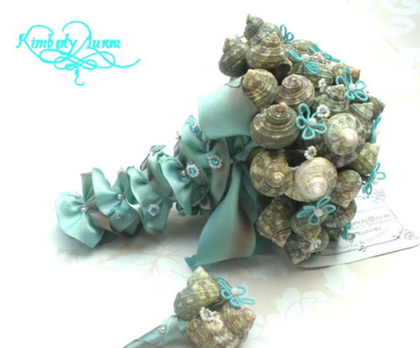 SeaShell Bouquet available at Romantic Flowers