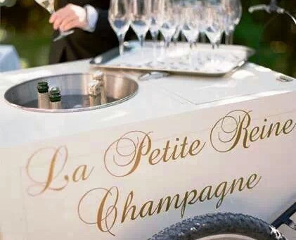 Signature Cocktail Friday ~ The Champagne Cart