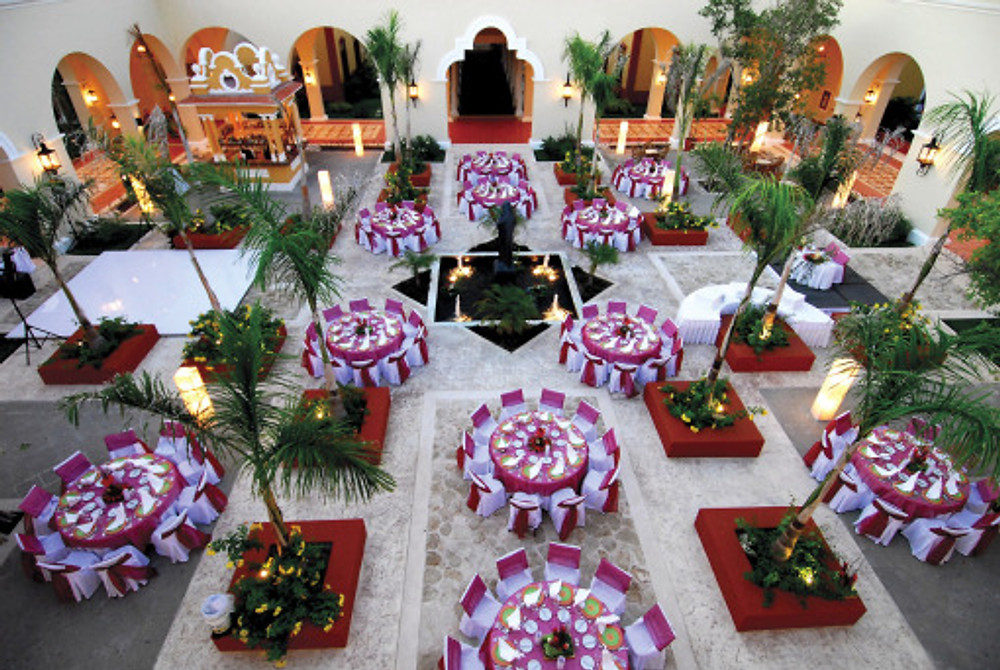 Stunning Setting for Destination Wedding Reception