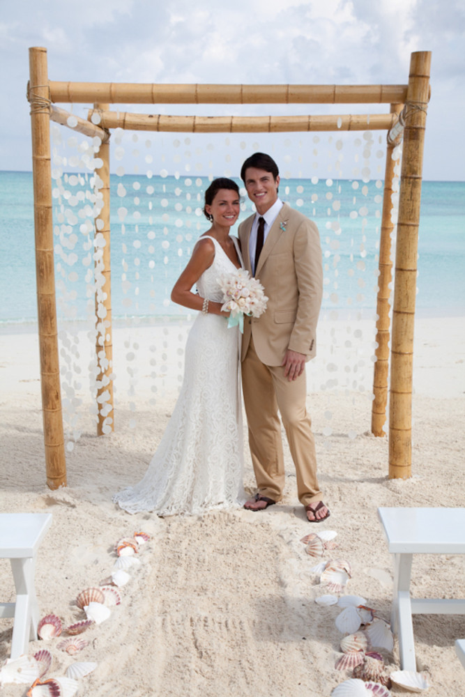 Martha Stewart Wedding Sandals and Beaches Resorts