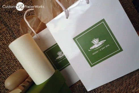 Custom Labels for Guests Welcome Bags