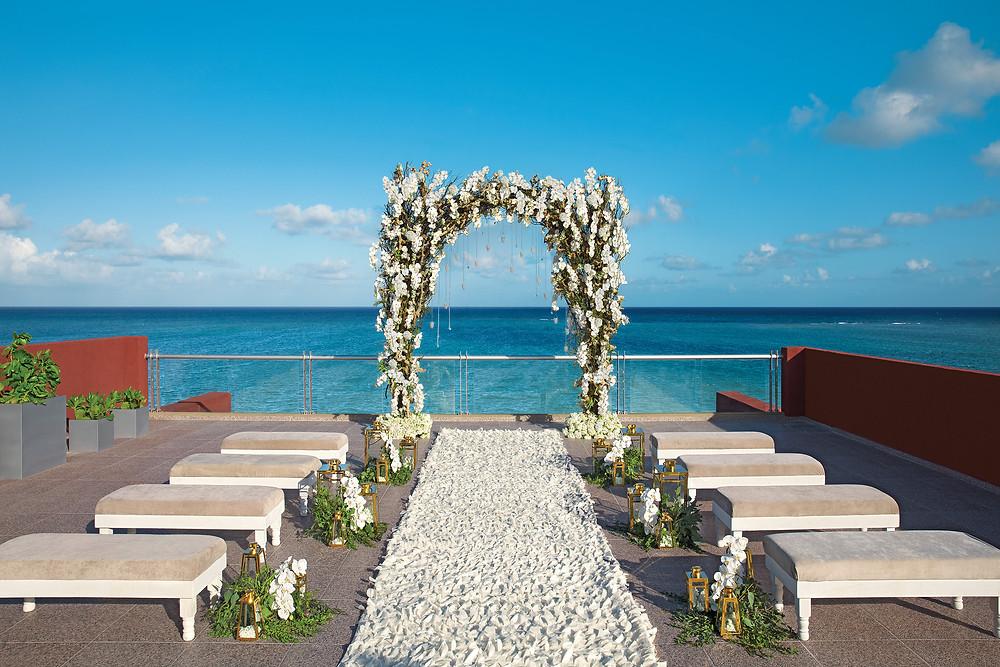 Wedding Setup at Zoetry Resort