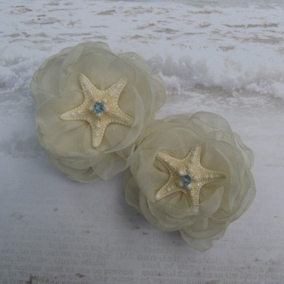 Starfish Shoe Clips