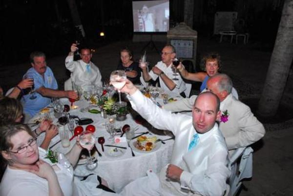 Dinner Reception Dreams Puerto Vallarta