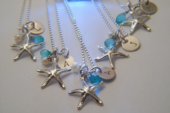 Starfish Necklaces for your Bridal Party