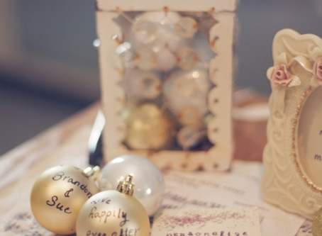 Holiday Wedding Guest Book