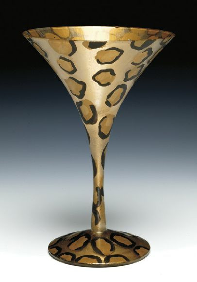 Leopardtini Glass from HulaIsland.com