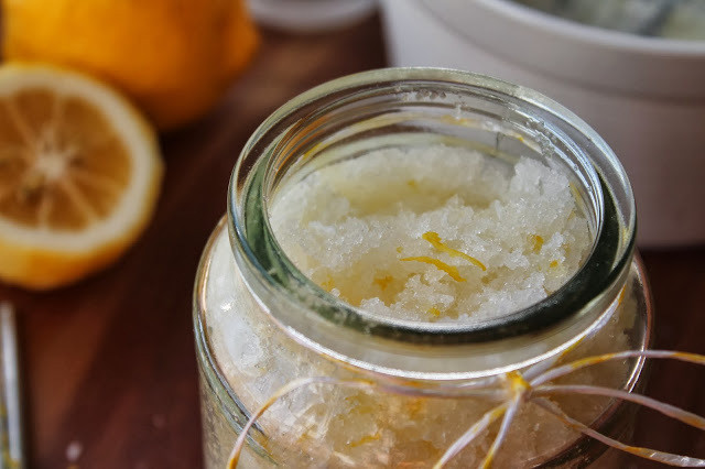 Coconut and Lime Body Scrub DIY Wedding Welcome Gift