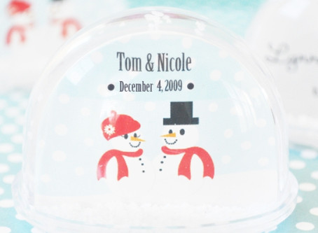 Snow Globe, Place Cards