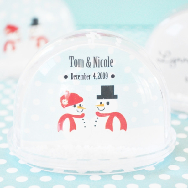 Snow Globe Place Card, From the Favour Shoppe