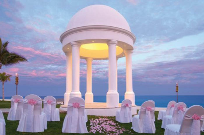 Imagine Your Wedding in This Elegant Gazebo