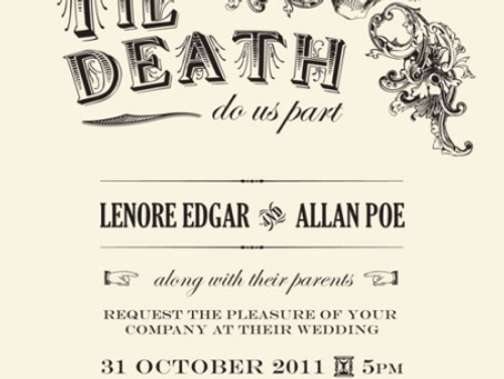 Til Death Do Us Part ~ Halloween Wedding Inspiration
