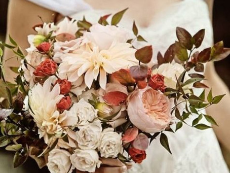 Falling ~ for Fall Bridal Bouquets