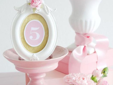 DIY Printable Table Numbers