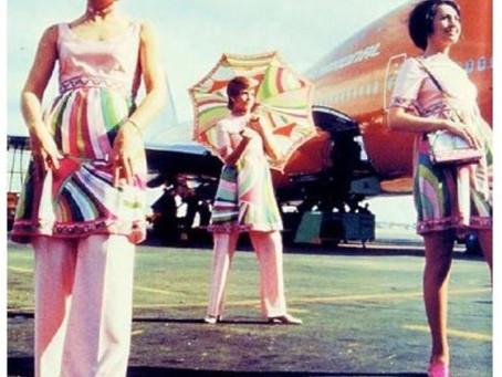 Vintage Stewardess Uniforms