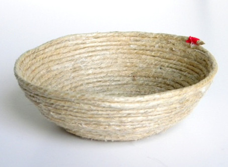 DIY Rope Bowl ~ Great Detail for Destination Wedding