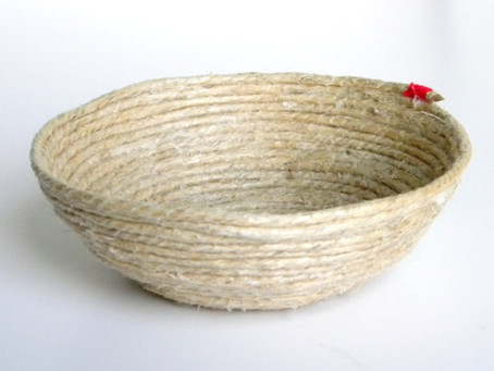 DIY Rope Bowl ~ Great Detail for Destination Wedding