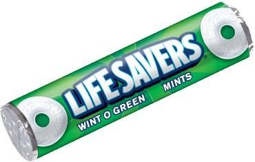 Life Savers for Christmas Tins