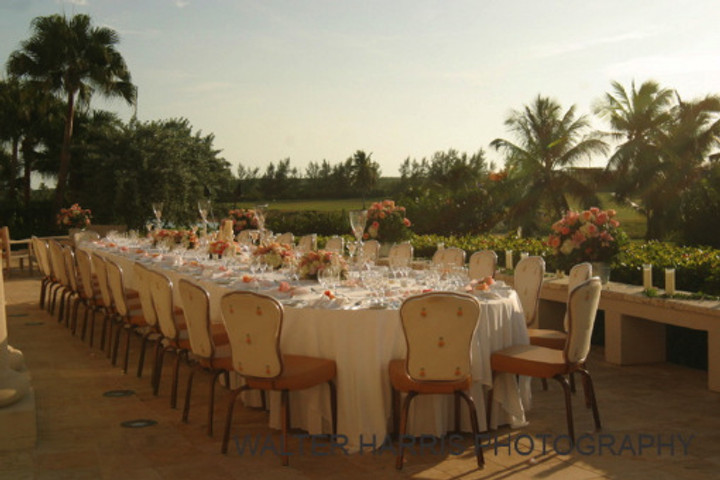 Wedding Reception Terrace Four Seasons Exuma