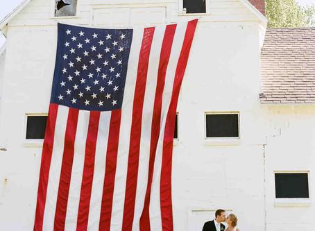 Summer Wedding in New England