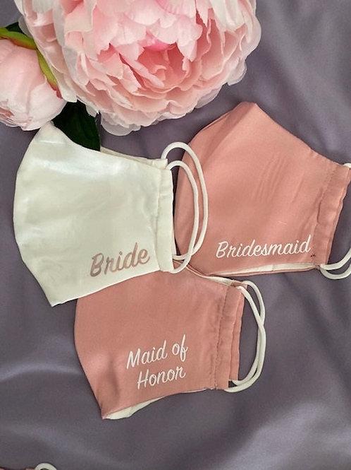 I'm Yours Personalized Wedding Masks