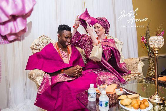 Traditional Tuesday ~ Yoruba Wedding Attire