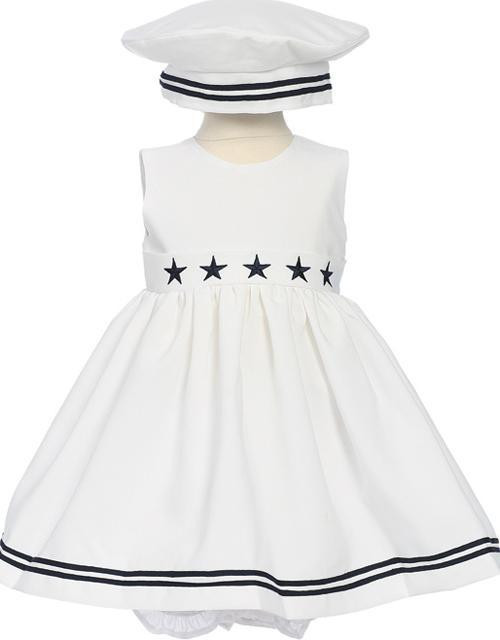 Adorable Sailor Dress For Your Flower Girl