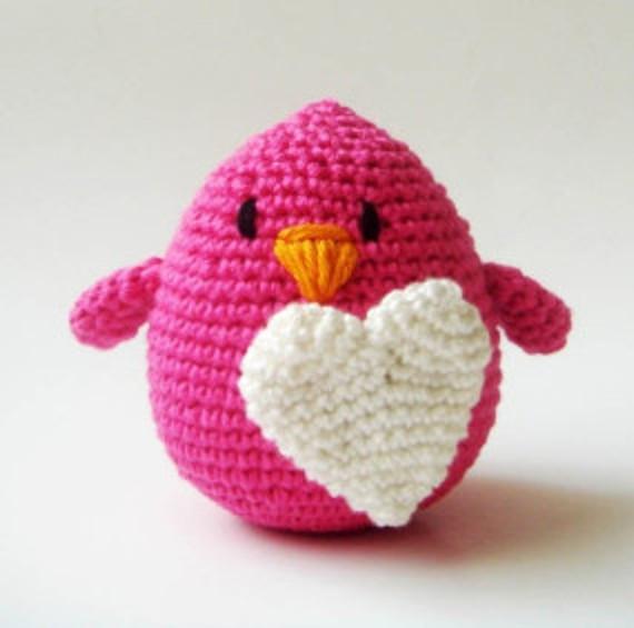 Honeysuckle Love Bird as a Cake Topper or Favor by Sabahnur