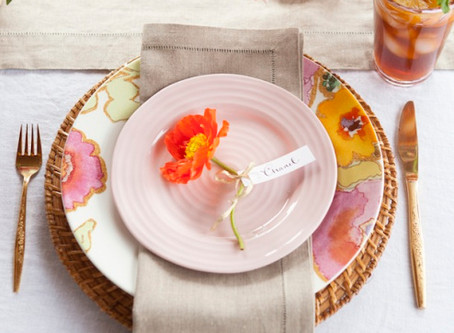 The Art of Place Setting