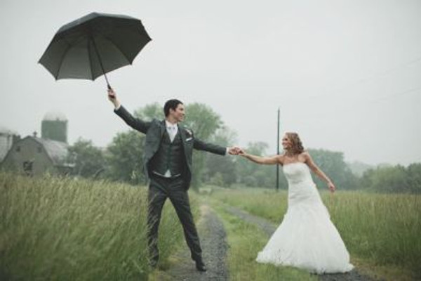Rainy Day Destination Wedding
