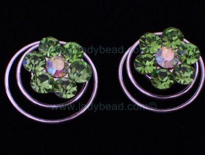 Swarovski Crystal Hair Jewelery From LadyBead.com