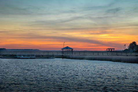 Sunset St Mary's River GA