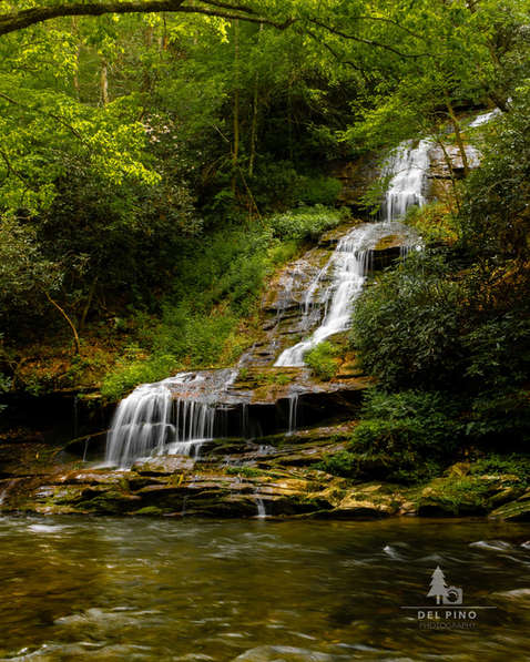 Tom Branch Falls Smoky Mountains