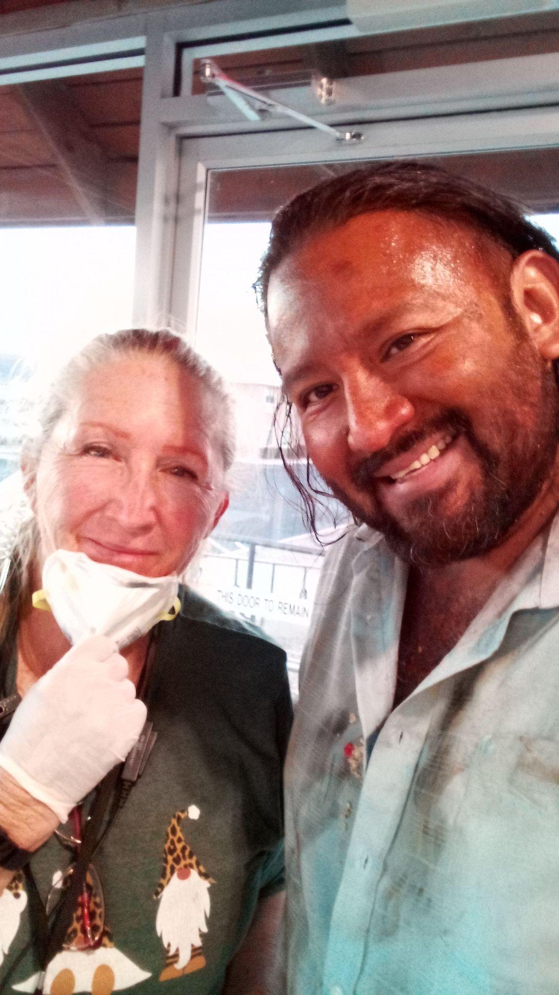 Donna Gafford and Santiago Villalobos