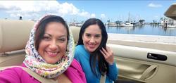 Amanda Franklin (right) and Brenda Garza (left)
