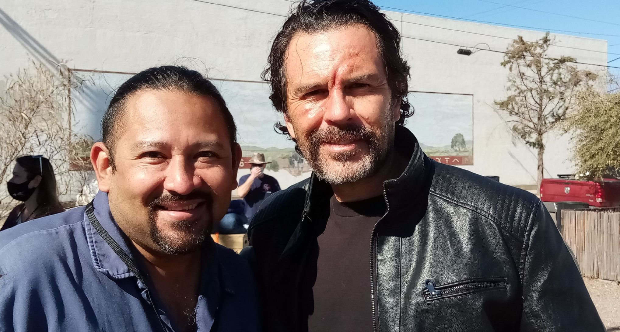 Santiago Villalobos and Marcus DeAnda